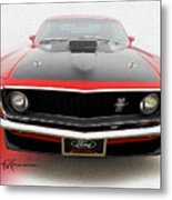 Dream_mustang42 Metal Print