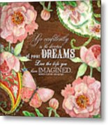 Dreams - Thoreau Metal Print