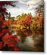 Dreamy Autumn Impressionism Metal Print