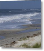 Dreamy Beach In North Carolina Metal Print