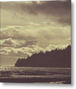 Dreamy Coastline Metal Print