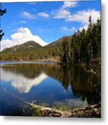 Dreamy Lake In The Rockies Metal Print