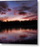 Dreamy Morning View Metal Print