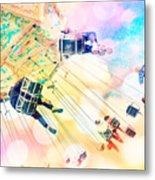 Dreamy Pastel Carnival Metal Print