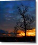 Dreamy Sunset Metal Print by Ella Char