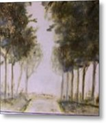 Dreamy Walk Metal Print
