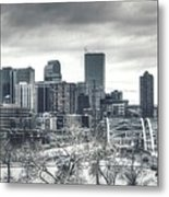 Dreary Denver Metal Print
