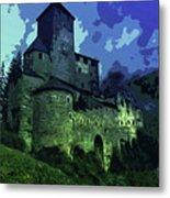 Dreary Fortress Metal Print