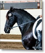 Dressage Horse Show Metal Print