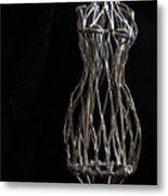 Dressmaker Form Metal Print