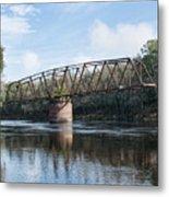 Drew Bridge Metal Print
