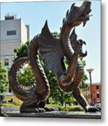 Drexel University Dragon - Philadelphia Pa Metal Print
