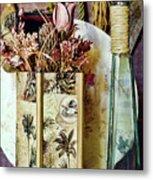 Dried Floral Still Metal Print