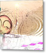 Drift Ashore Metal Print by Mark M  Mellon
