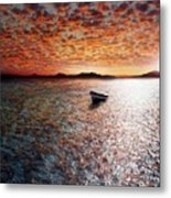 Drift Away Metal Print