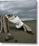 Drifts And Clouds Metal Print