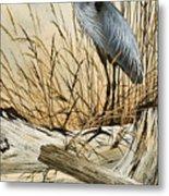 Driftwood Splendor Metal Print