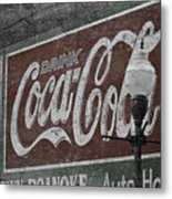 Drink Coca Cola Roanoke Virginia Metal Print