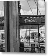 Drink Sign In Fargo Nd Metal Print