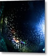 Dripping Cell Metal Print