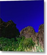 Dripping Springs Reflection Metal Print