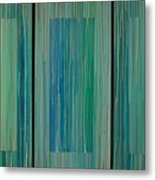 Drippings Triptych Metal Print