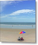 Drive By Beach Day Abmlo  Metal Print