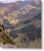 Drive In The Mountains Metal Print