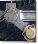 Pacific Locomotive - Drive Metal Print