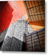 Driven To Abstraction Metal Print