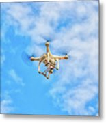 Drone On The Air Metal Print