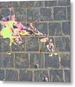 Drop Of Colour Metal Print