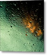 Droplets II Metal Print