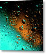 Droplets Vi Metal Print