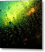 Droplets Xii Metal Print