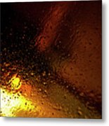 Droplets Xiv Metal Print