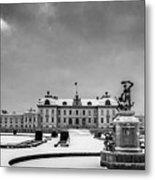 Drottningholm Castle Winter Metal Print