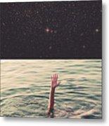 Drowned In Space Metal Print