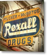 Drug Store #3 Metal Print