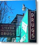 Drugs Metal Print