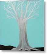 Druid Tree - Original Metal Print
