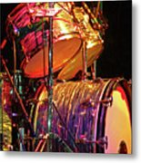 Drum Set Metal Print