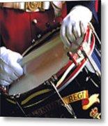Drummer In Bermuda Metal Print