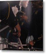 Drummer's Hand Metal Print