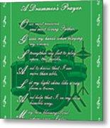 Drummers Prayer_1 Metal Print by Joe Greenidge