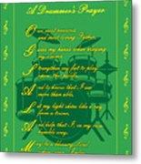 Drummers Prayer_2 Metal Print by Joe Greenidge