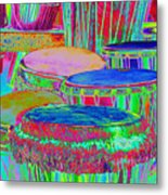 Drums Of Change Metal Print