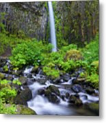 Dry Creek Falls Metal Print