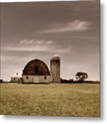 Dry Earth Crumbles Between My Fingers And I Look To The Sky For Rain Metal Print