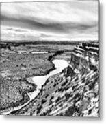 Dry Falls Metal Print